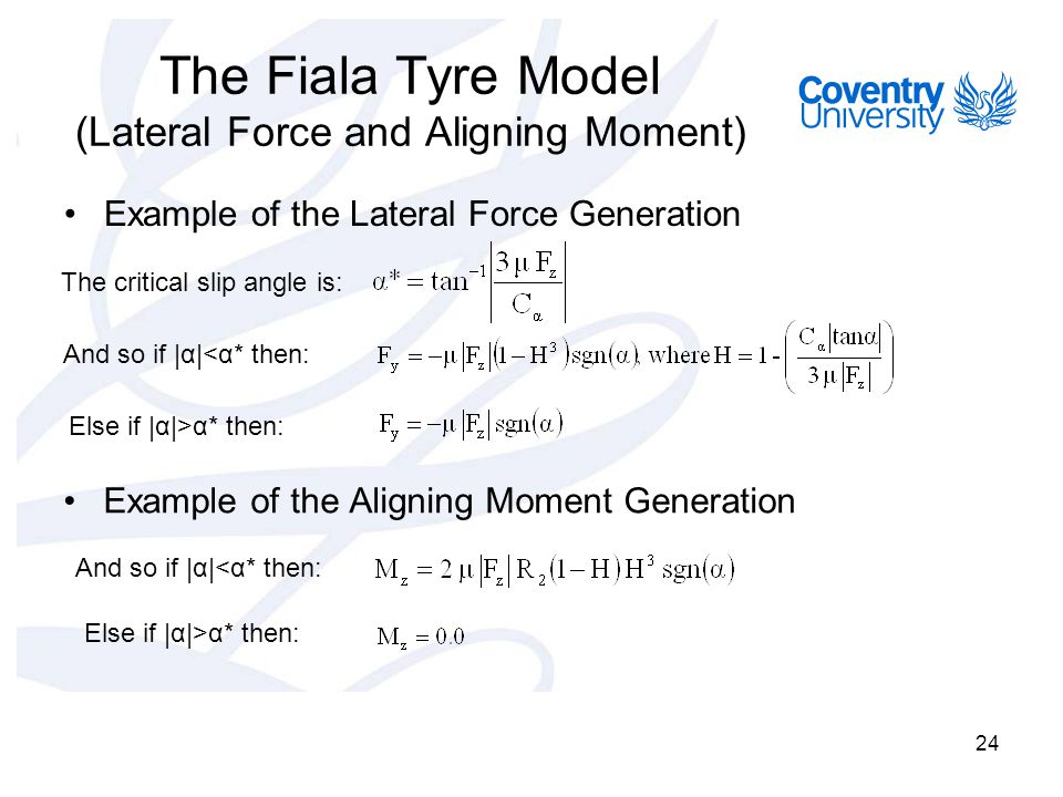 Lecture 5- Tyre Modelling - ppt video online download