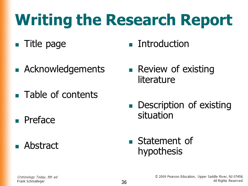 writing the report The purpose & scope of report writing a report is a structured document that takes information and presents it in an objective and succinct manner it contains an introduction, body and conclusion.