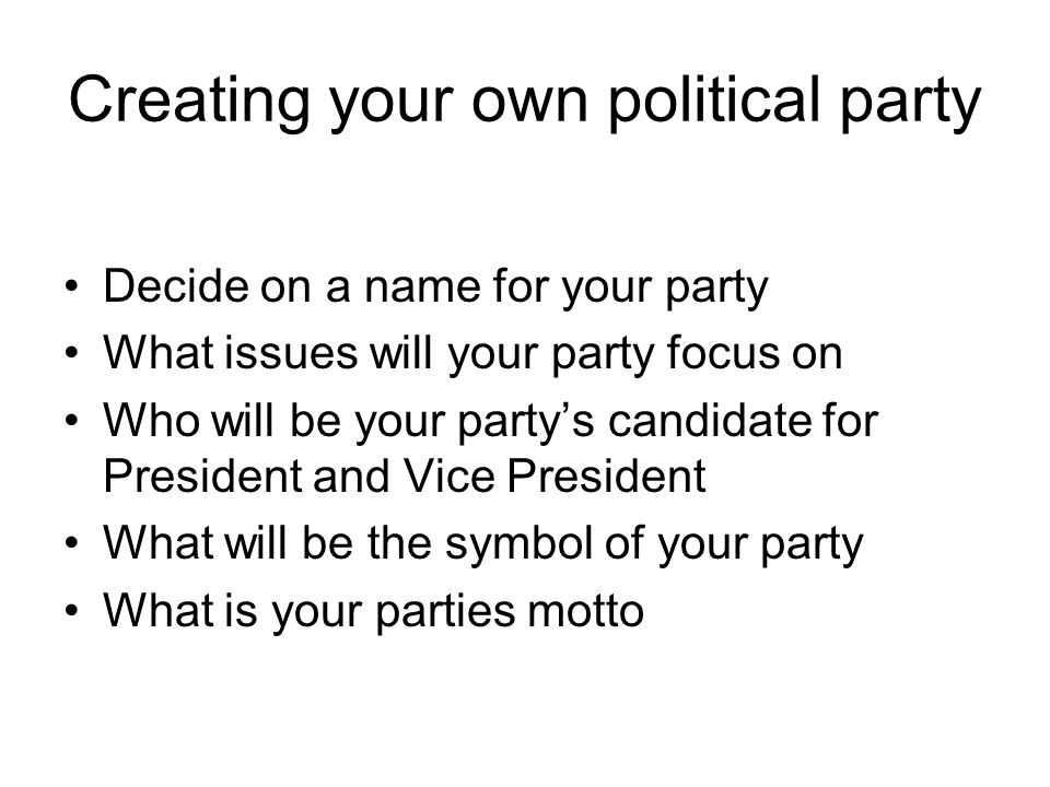Journal Question 1 Which Political Party Do You Think You Identify