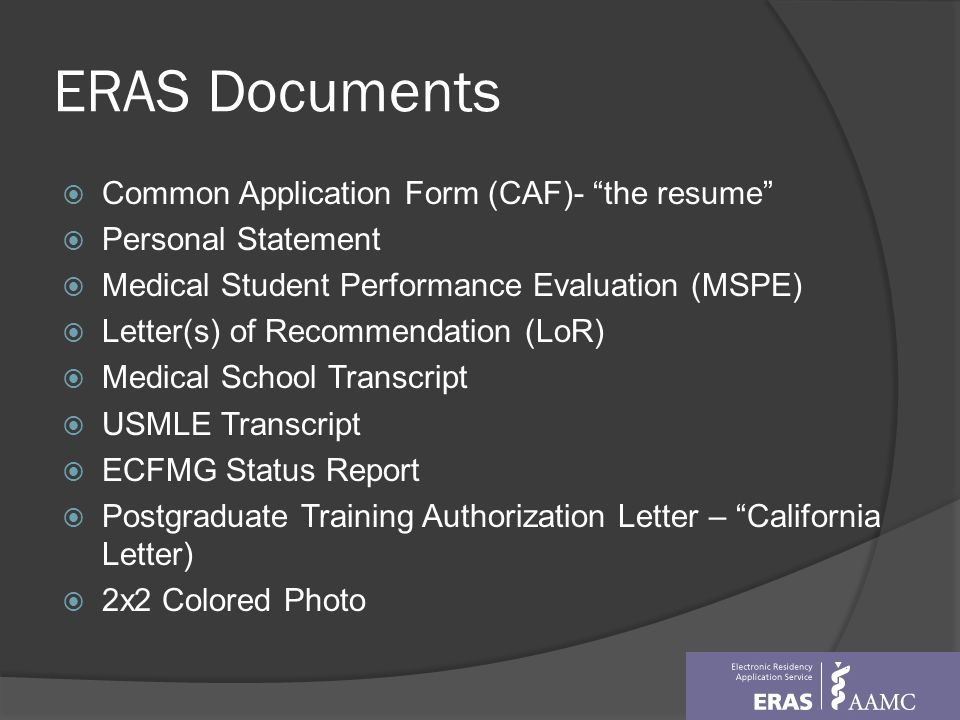 Overview of Residency Matching Program - ppt download