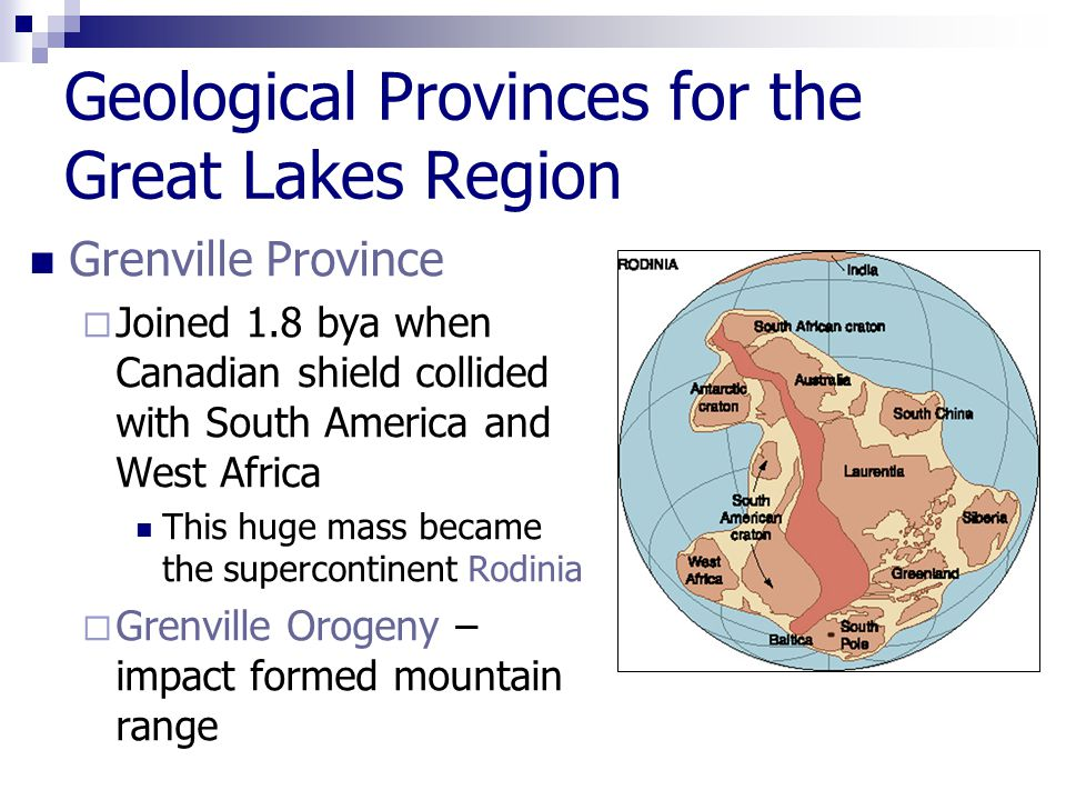 Formation of the Great Lakes Part 1 Precambrian Geology