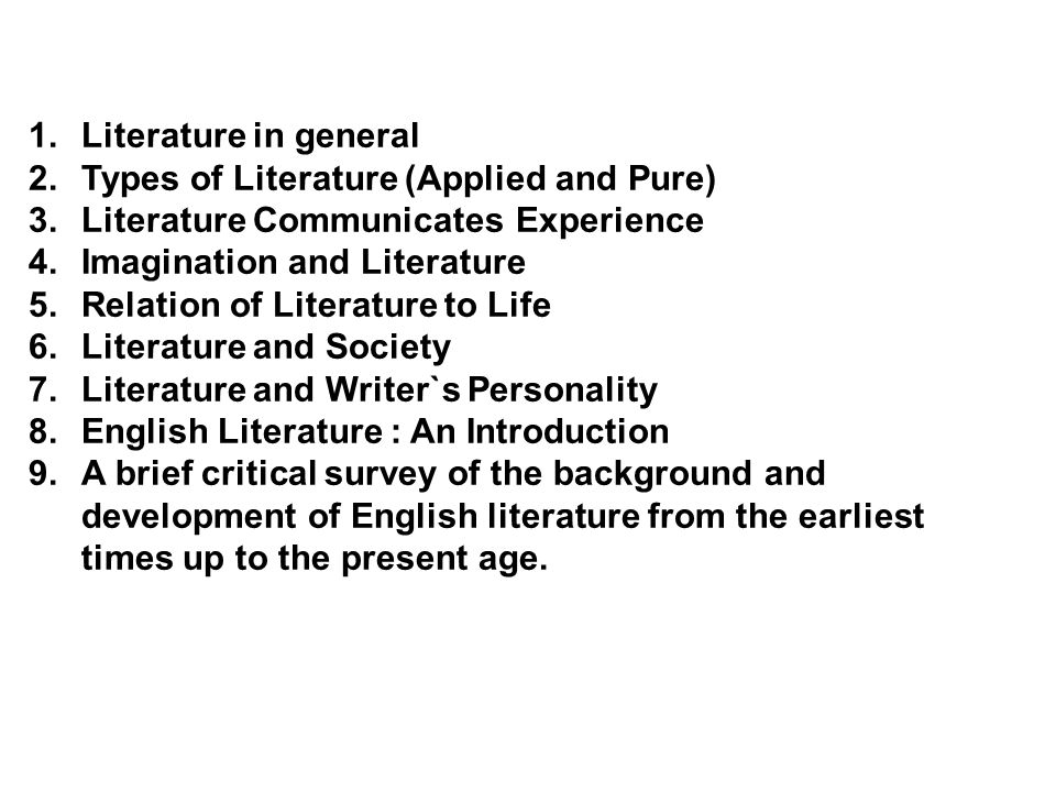 A Critical History Of English Literature Pdf