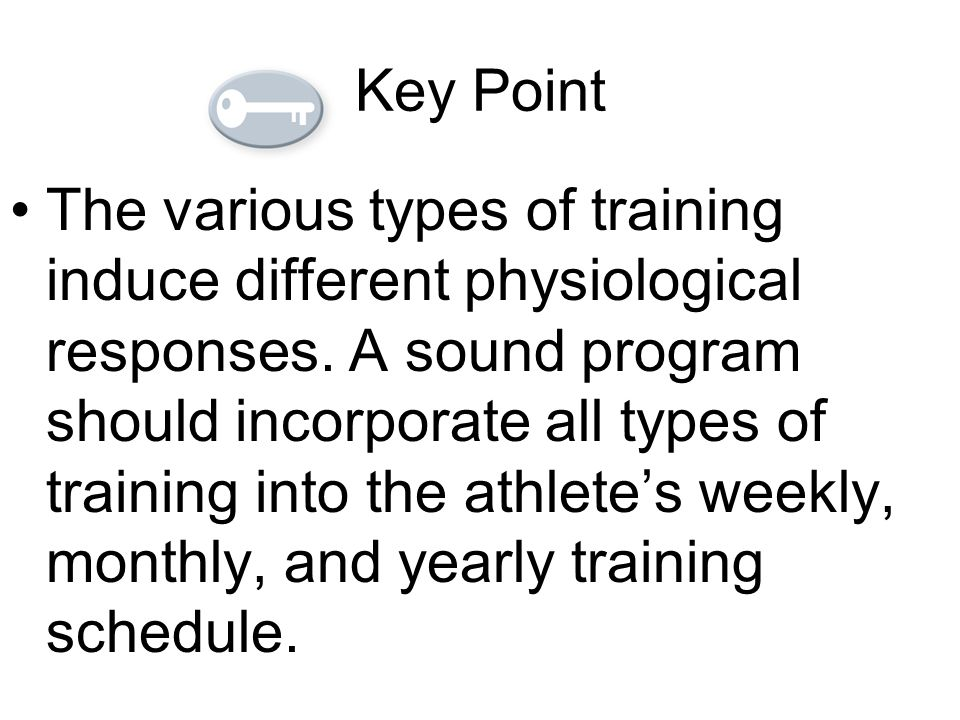 aerobic endurance training