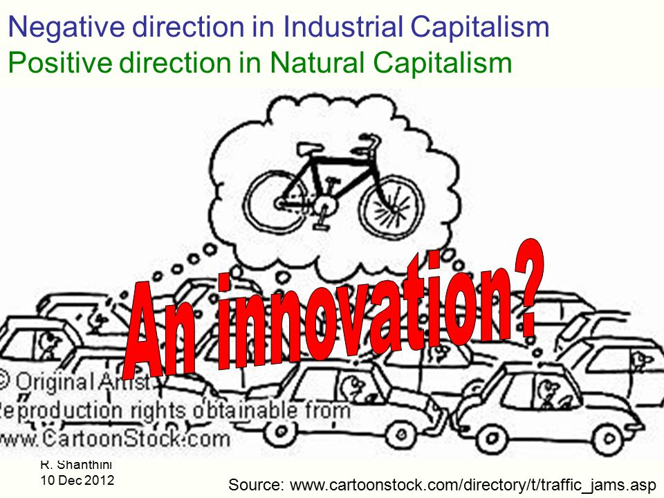An innovation Negative direction in Industrial Capitalism