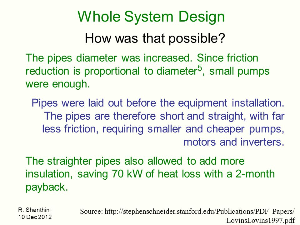 Whole System Design How was that possible