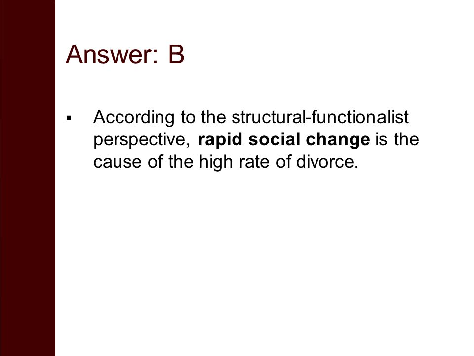 functionalist perspective on divorce