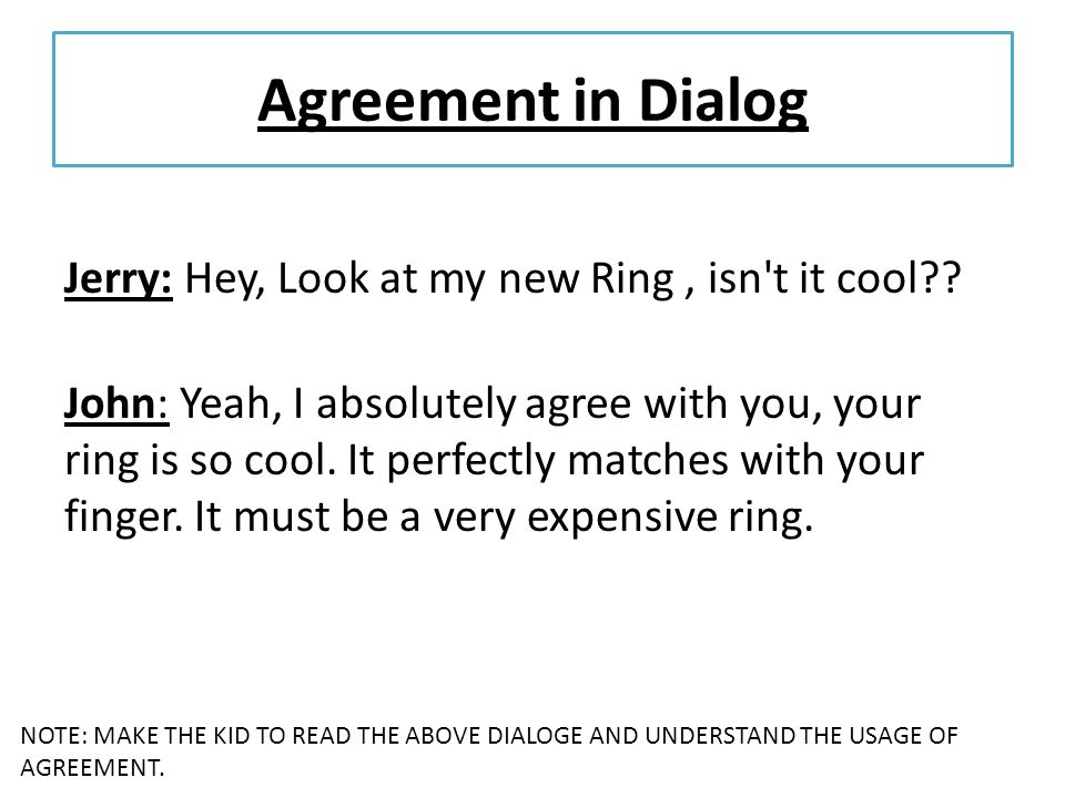 Contoh Dialog Expressing Agreement And Disagreement