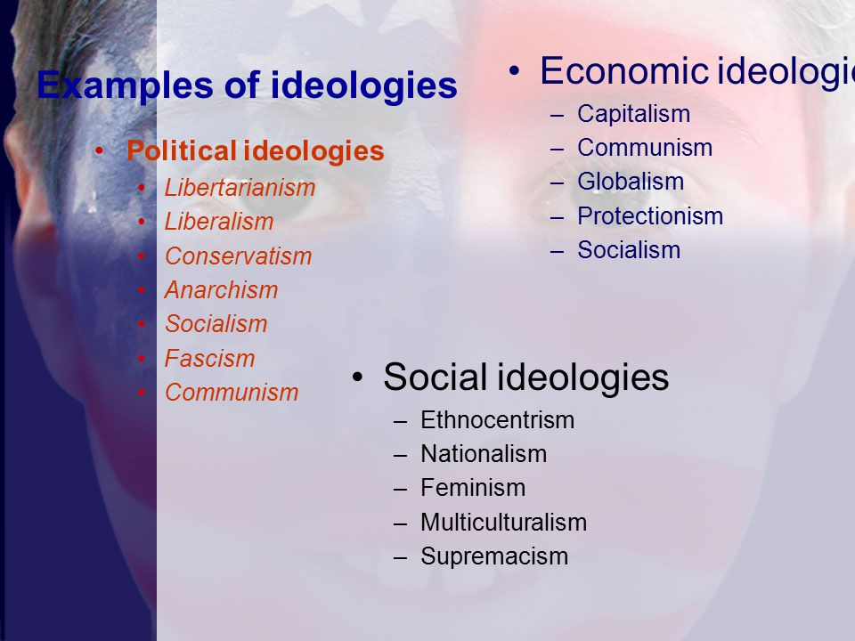 political ideologies Political ideologies introduction in this assignment i will describe three major political ideologies i have chosen to look at communism, capitalism and socialism.
