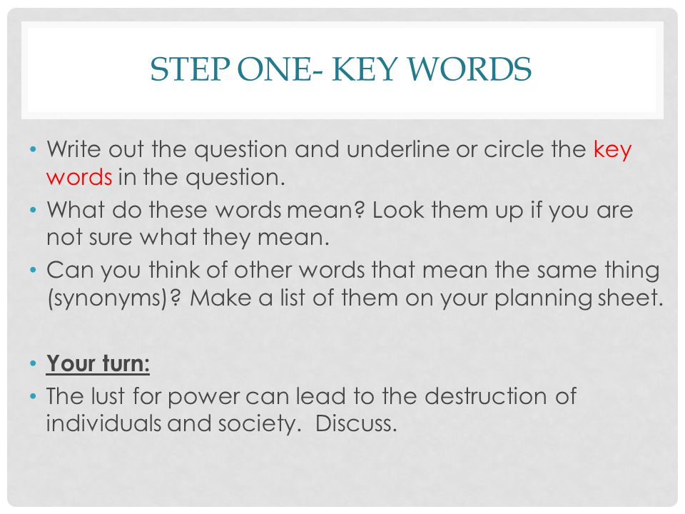 Macbeth Planning The Essay  Ppt Download  Step