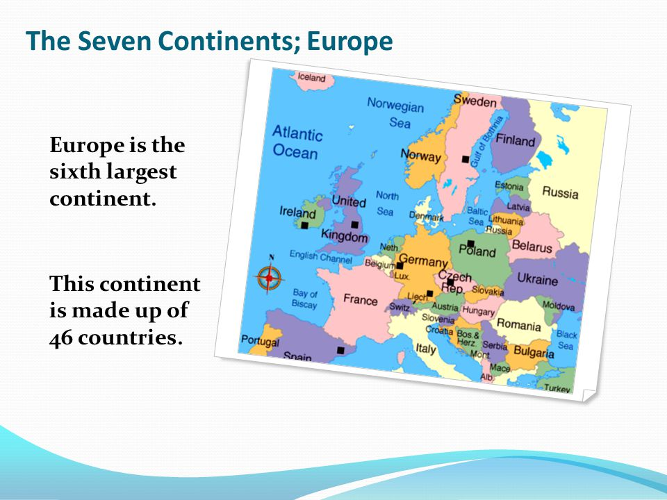 sixth largest continent