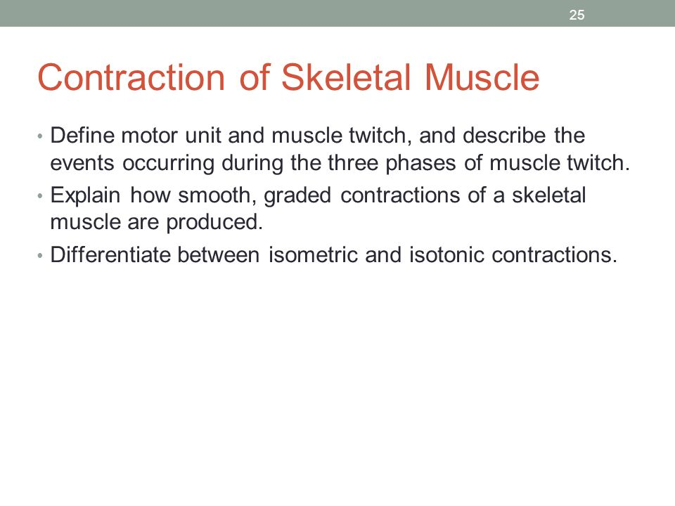 isotonic contraction and the effect of load on skeletal muscles essay Skeletal muscles structure,properties,how muscles contract ug lecture search search upload  the contraction and relaxation of skeletal muscle in response to a single adequate stimulus  effect of load on muscle contraction 1 free-load 2 after-load effect of temperature on muscle contraction 1 heat rigor 2 cold rigor 3.