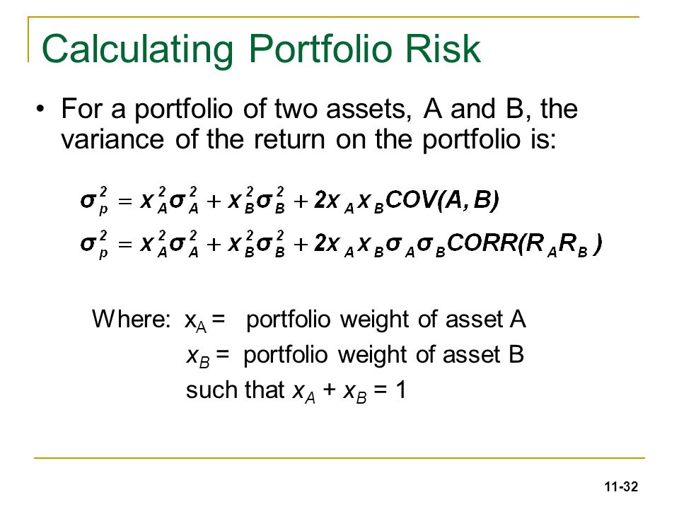Calculate Total Present Portfolio Value