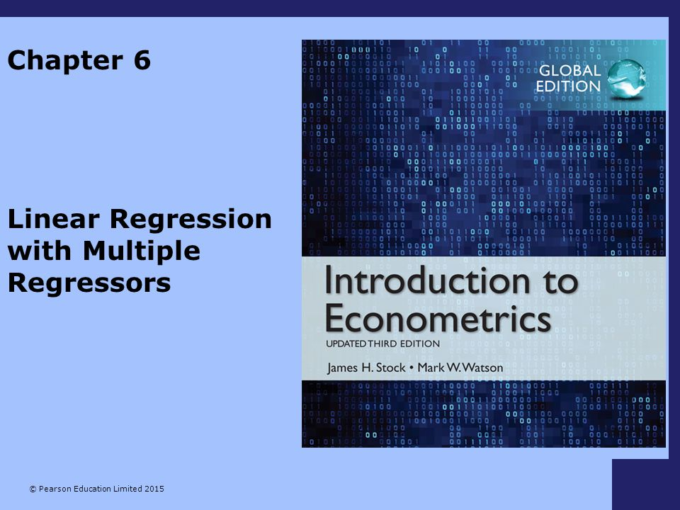Linear Regression with Multiple Regressors