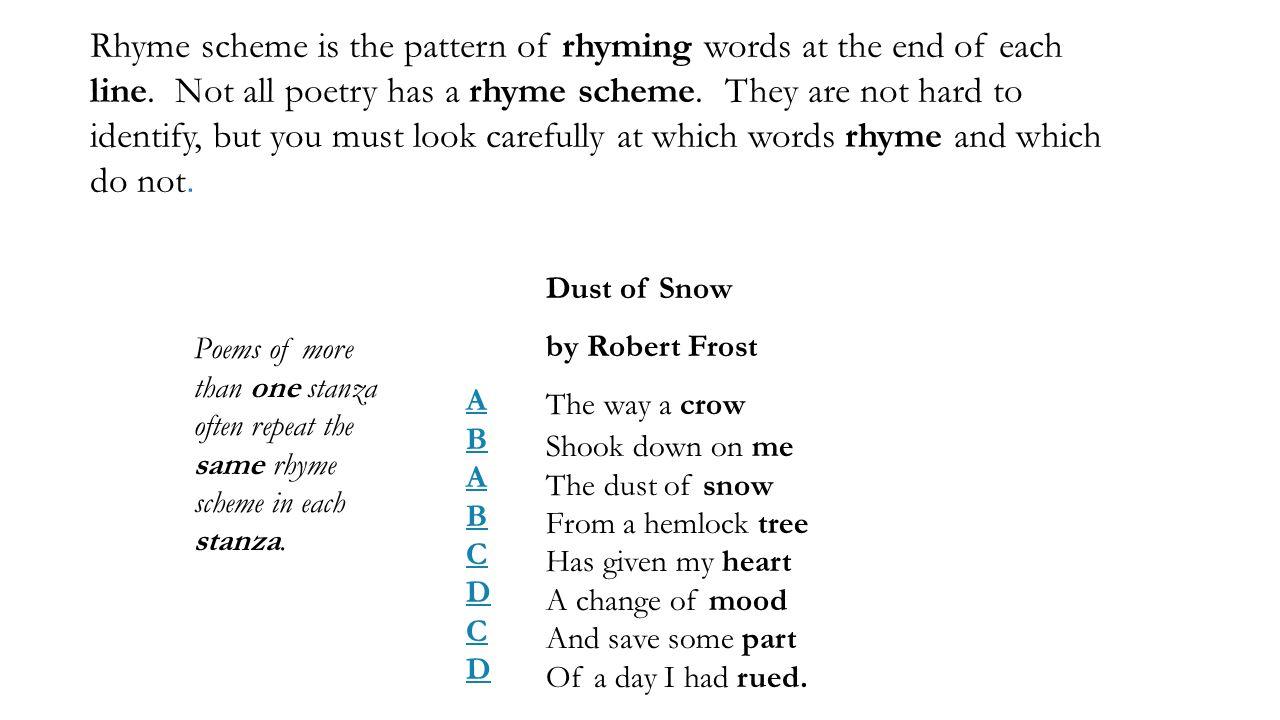 Poem Patterns