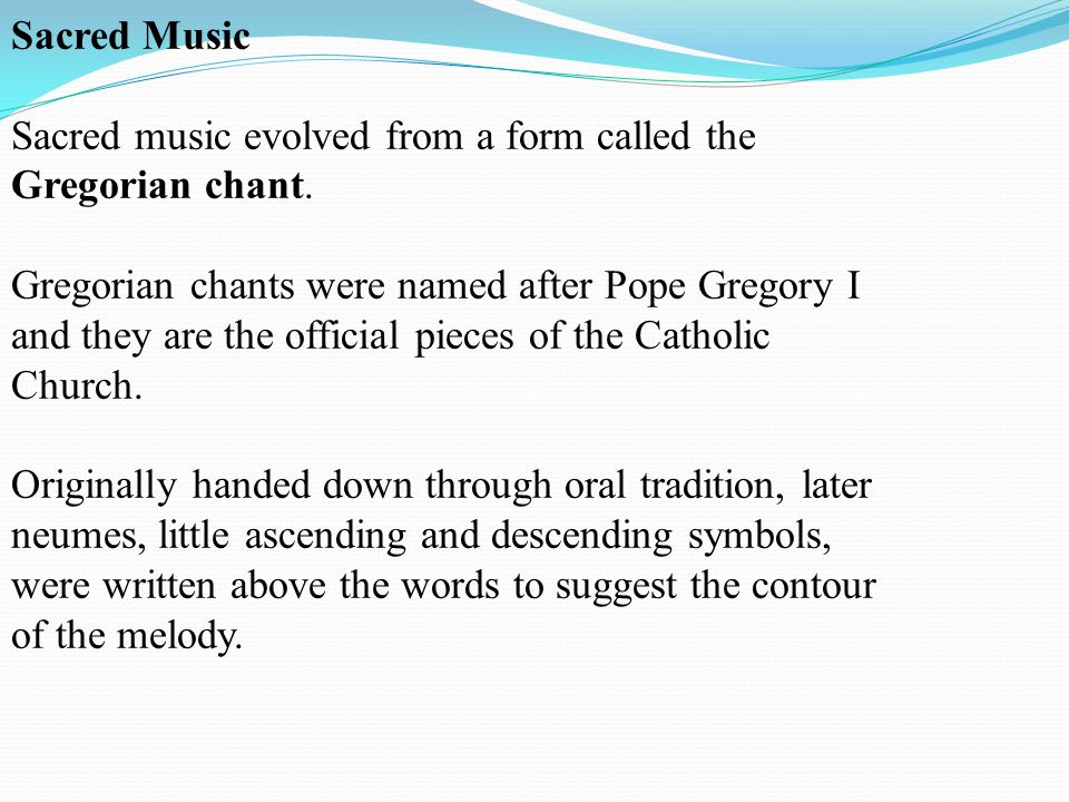 what are the characteristics of gregorian chant