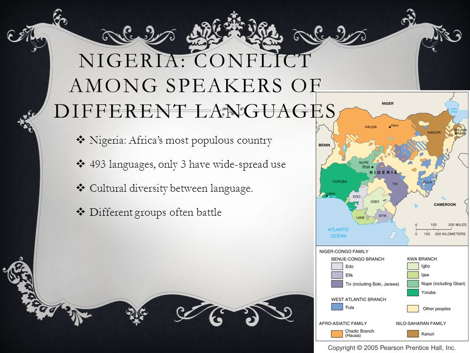 Nigeria: Conflict among speakers of different languages