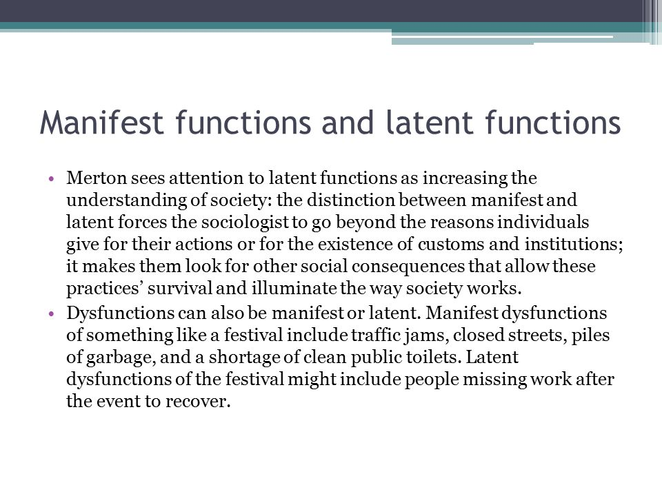 what is a latent function