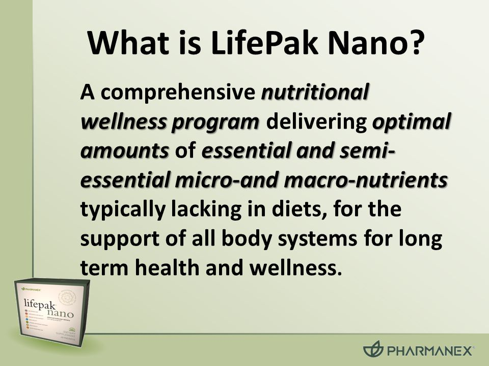 What is LifePak Nano