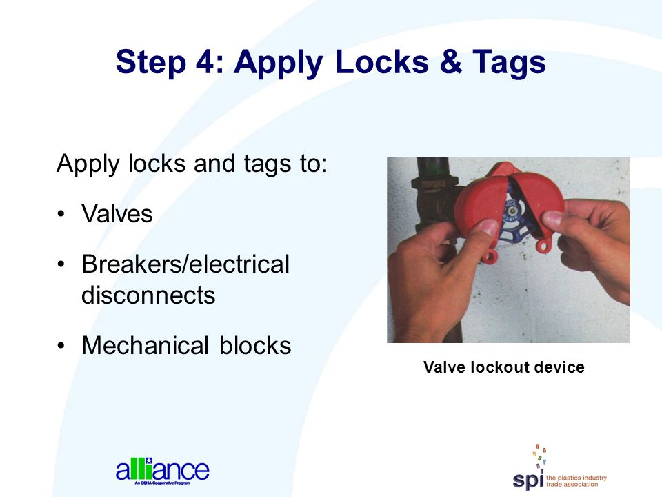 Step 4: Apply Locks & Tags
