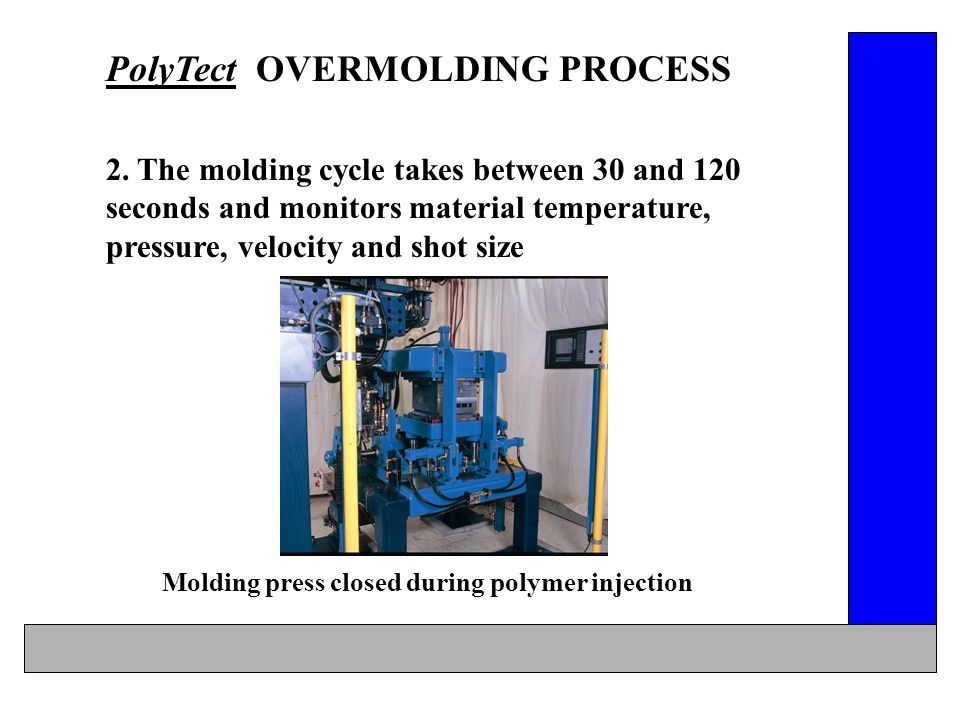 OVERMOLDING PROCESS & MATERIAL ELECTRONIC MODULE ASSEMBLIES - ppt