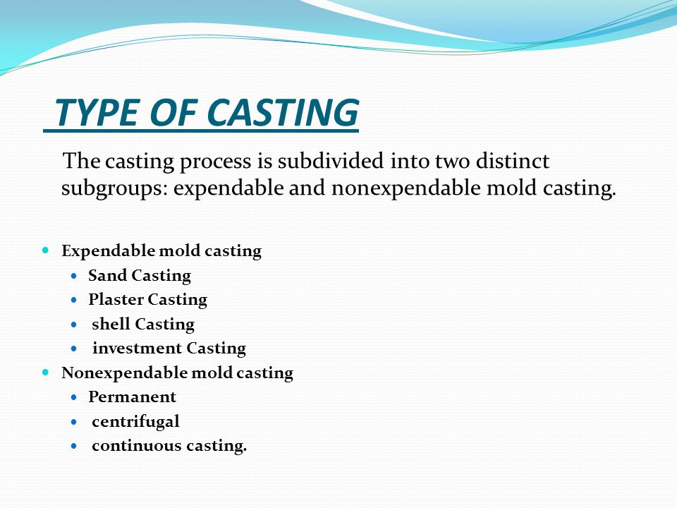 A SEMINAR REPORT ON INVESTMENT CASTING - ppt video online