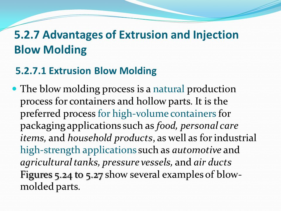 CHAPTER 5 Blow Molding  - ppt video online download