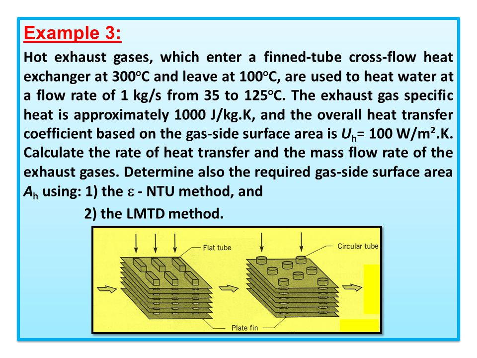Chapter 3 2: Heat Exchanger Analysis Using -NTU method - ppt video