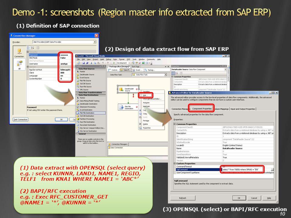 How Office Business Applications reach SAP ERP through