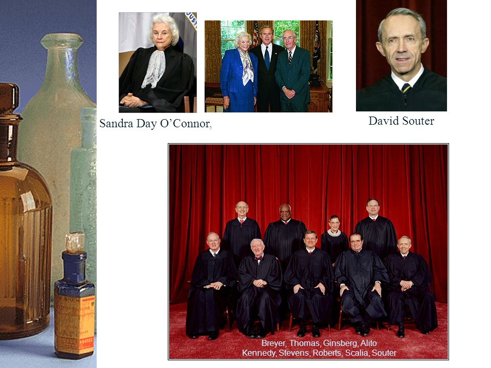Sandra Day O'Connor, David Souter