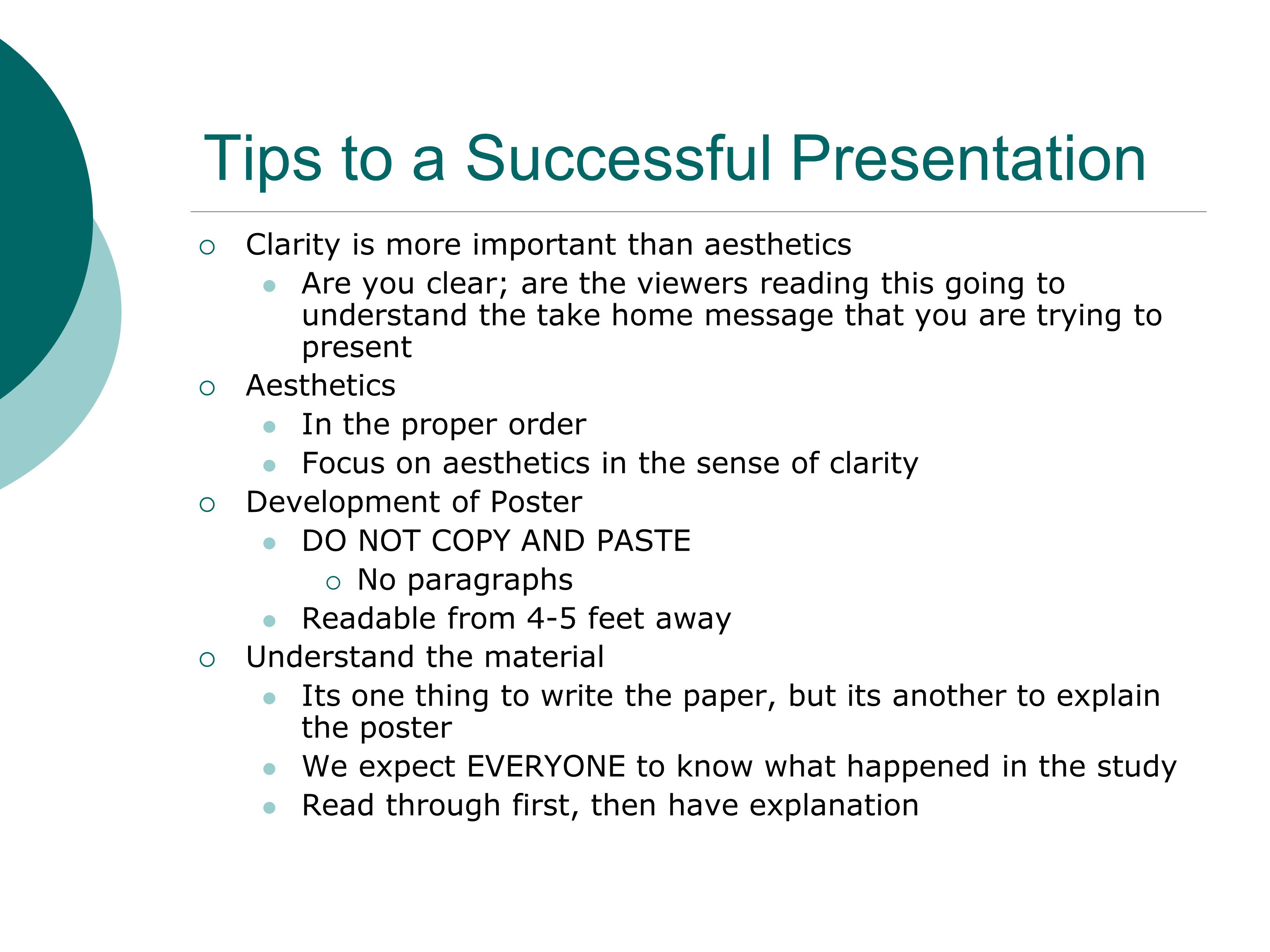 Strategies for successful presentations ppt video online download.