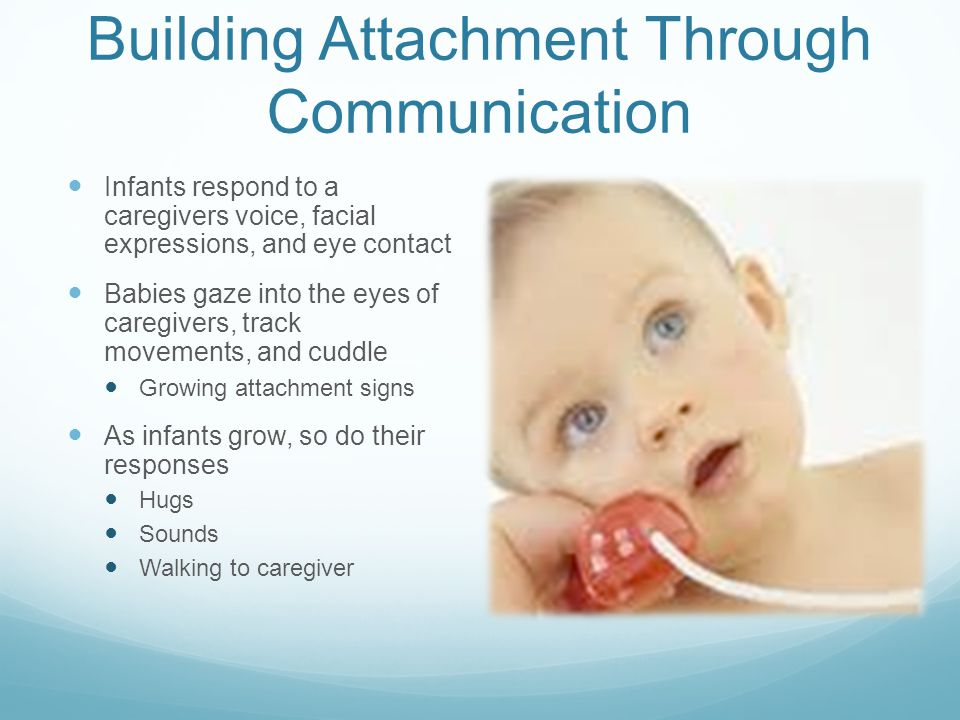 Building Attachment Through Communication