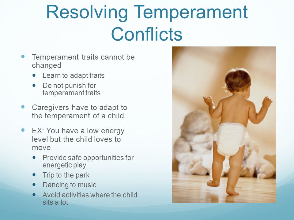 Resolving Temperament Conflicts