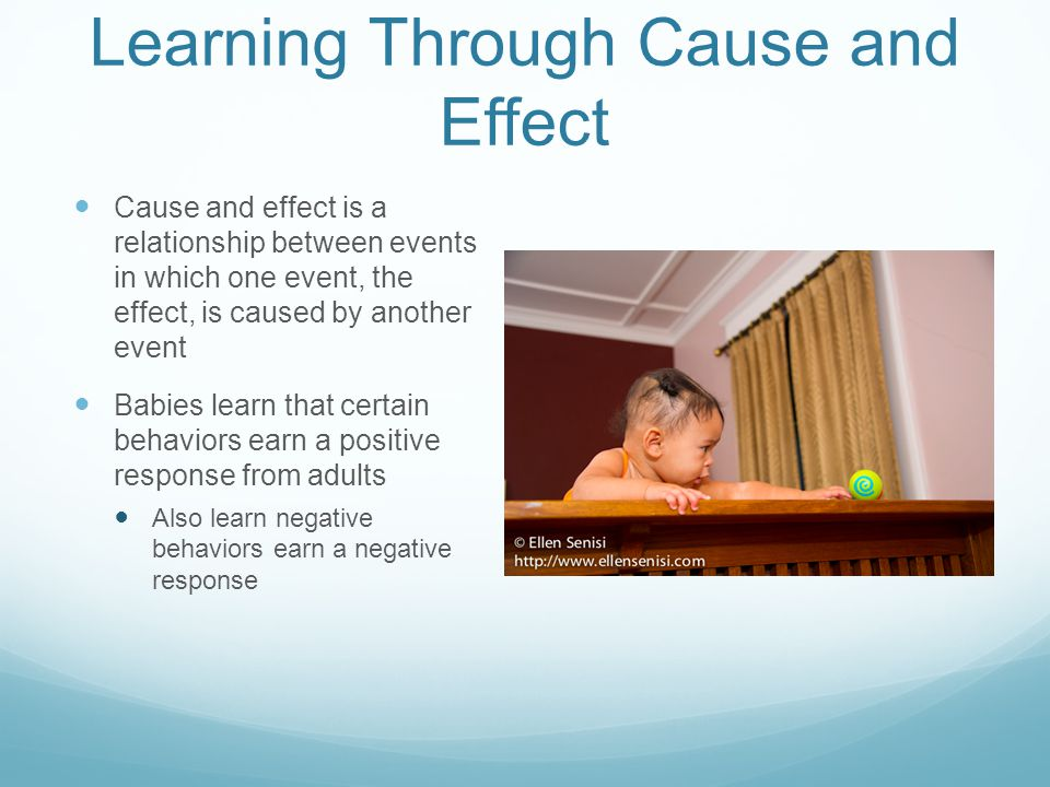 Learning Through Cause and Effect