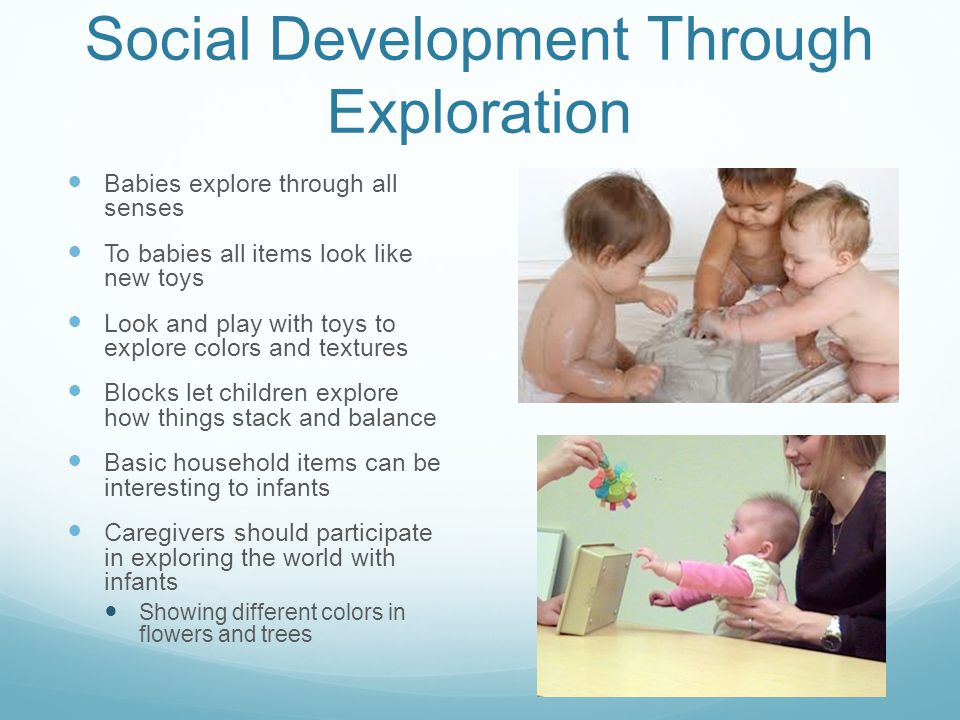 Social Development Through Exploration