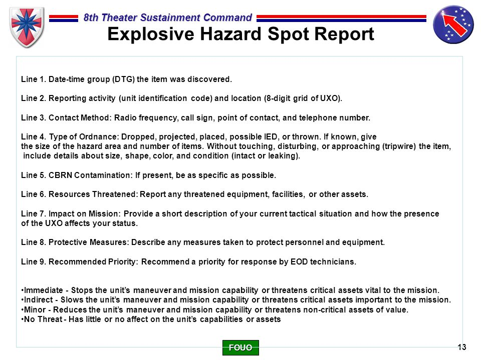 SITREP/SPOTREP CLASS  - ppt video online download