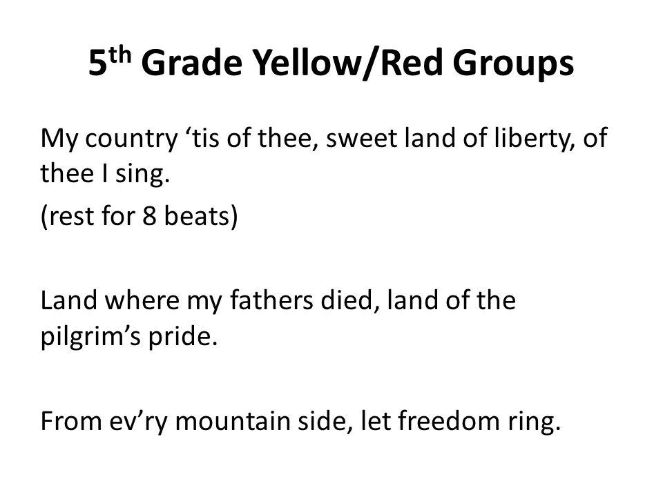 Lyric my country tis of thee lyrics : My America. - ppt download