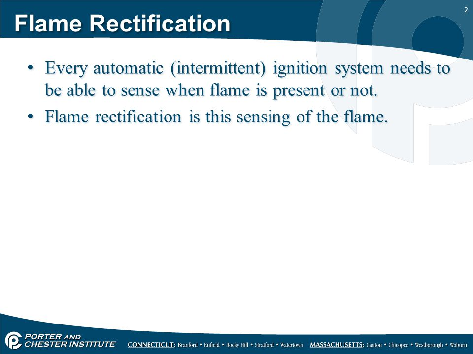 HVAC121 – Gas Heat Flame Rectification  - ppt video online