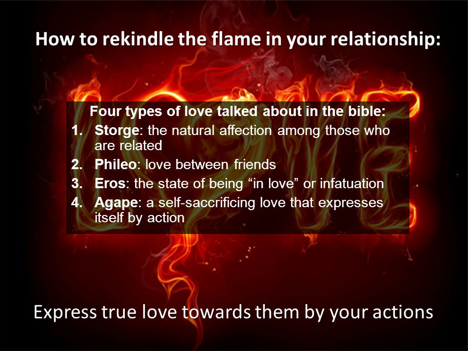 4 types of love in the bible