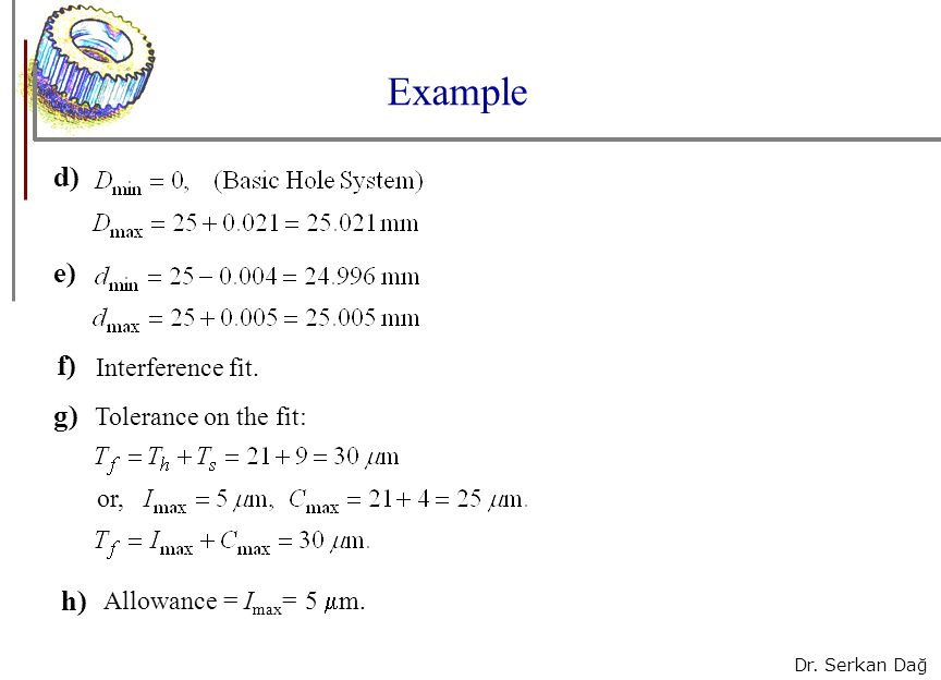 1 Chapter Tolerances and Fits - ppt video online download