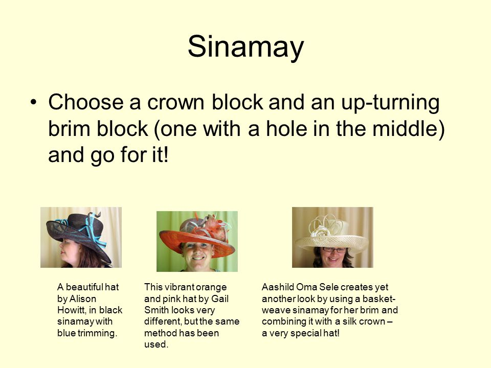 Materials for hats and manufacturing - ppt video online download