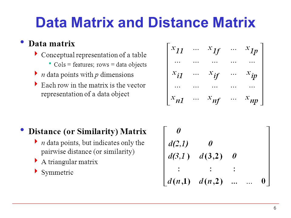 Distance and Similarity Measures - ppt video online download