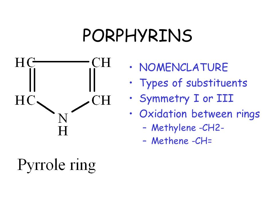 Four Pyrrole Rings