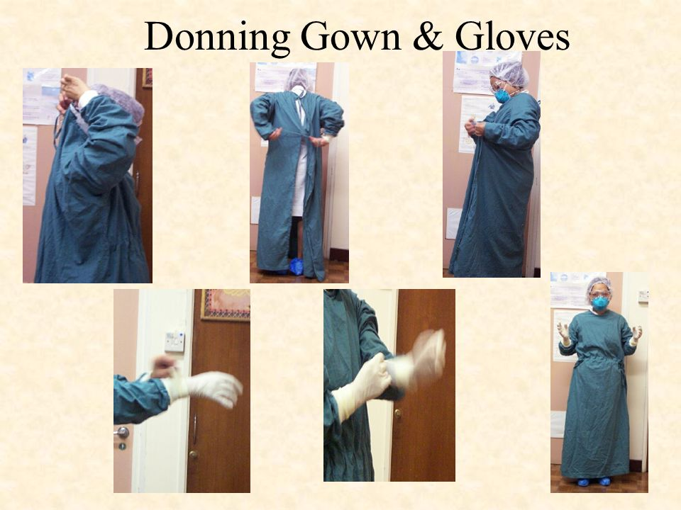 DONNING & REMOVING Personal Protective Equipment (PPE) for SARS ...