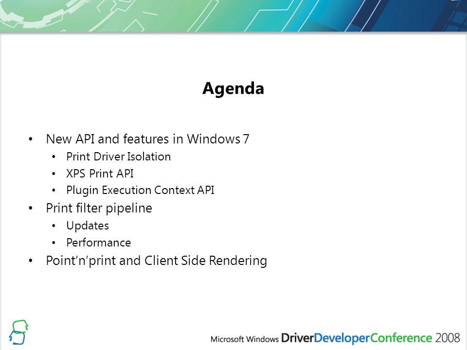 Printer Driver Development in Windows 7 - ppt video online