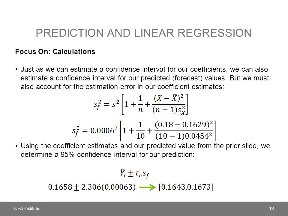 Prediction and Linear regression