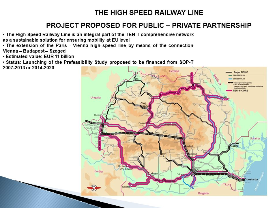 THE HIGH SPEED RAILWAY LINE