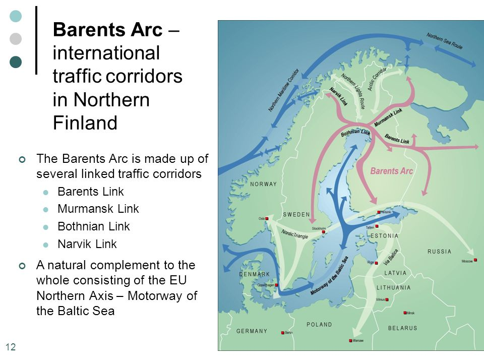 Barents Arc – international traffic corridors in Northern Finland