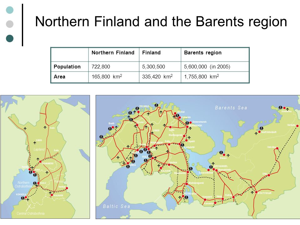 Northern Finland and the Barents region