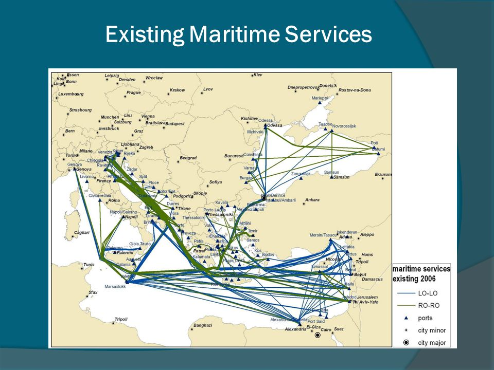 Existing Maritime Services
