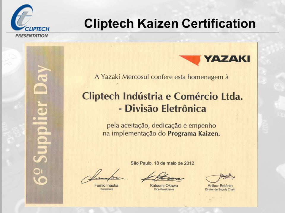 Cliptech Electronic Division - ppt video online download